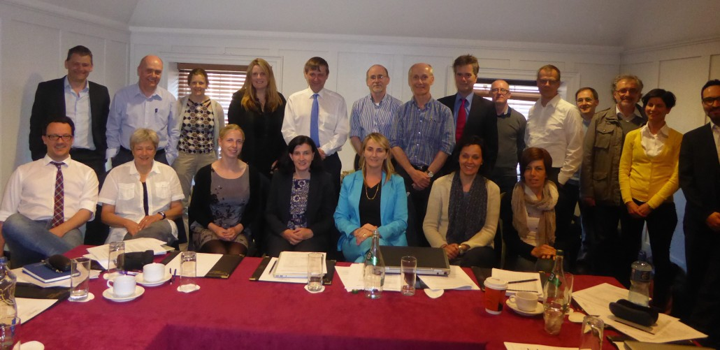 The NEPHSTROM team at the kick-off meeting in Dublin.